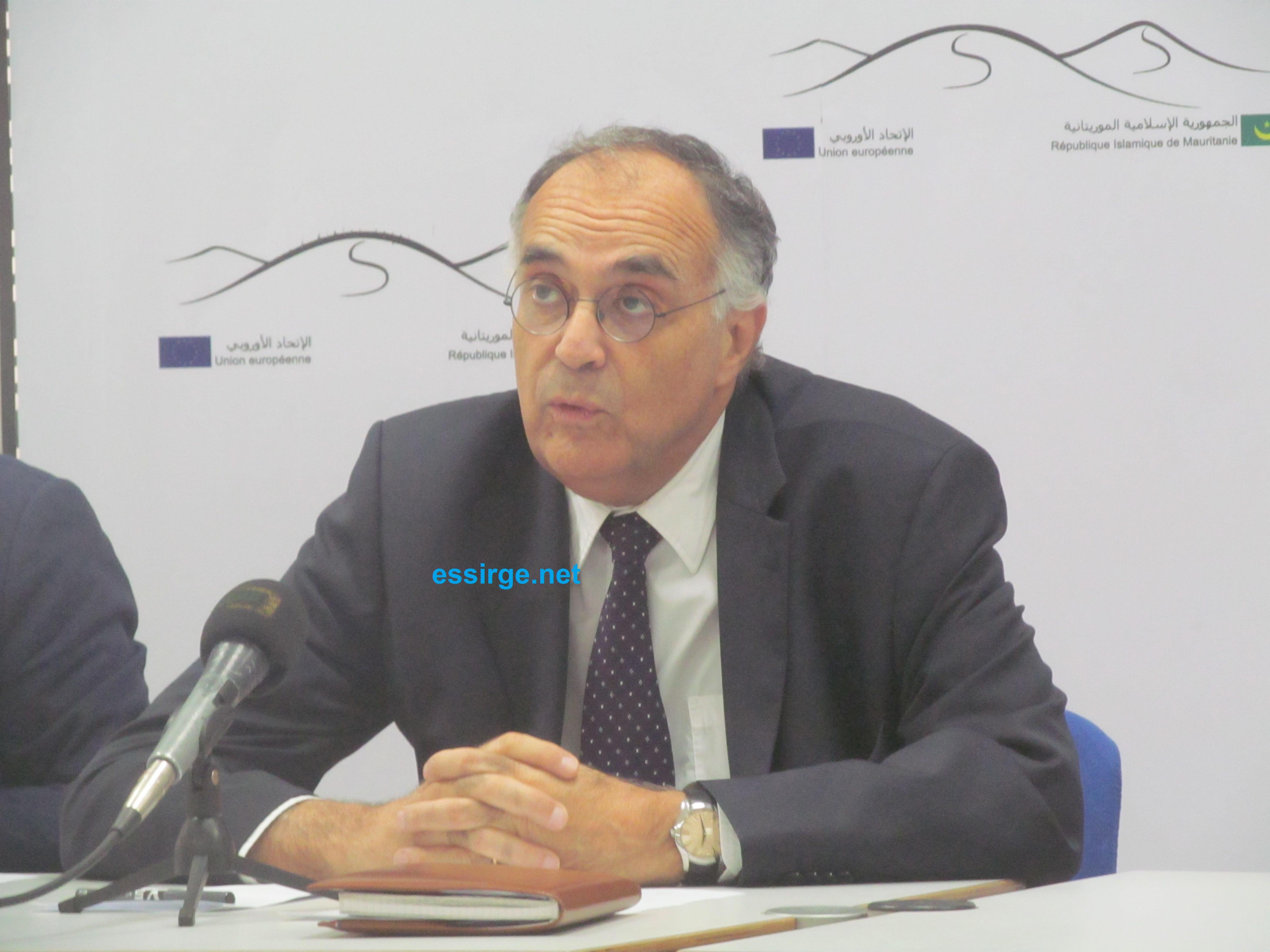 Monsieur Reveyrand-de Menthon le Représentant spécial de l'Union européenne pour la région du Sahel