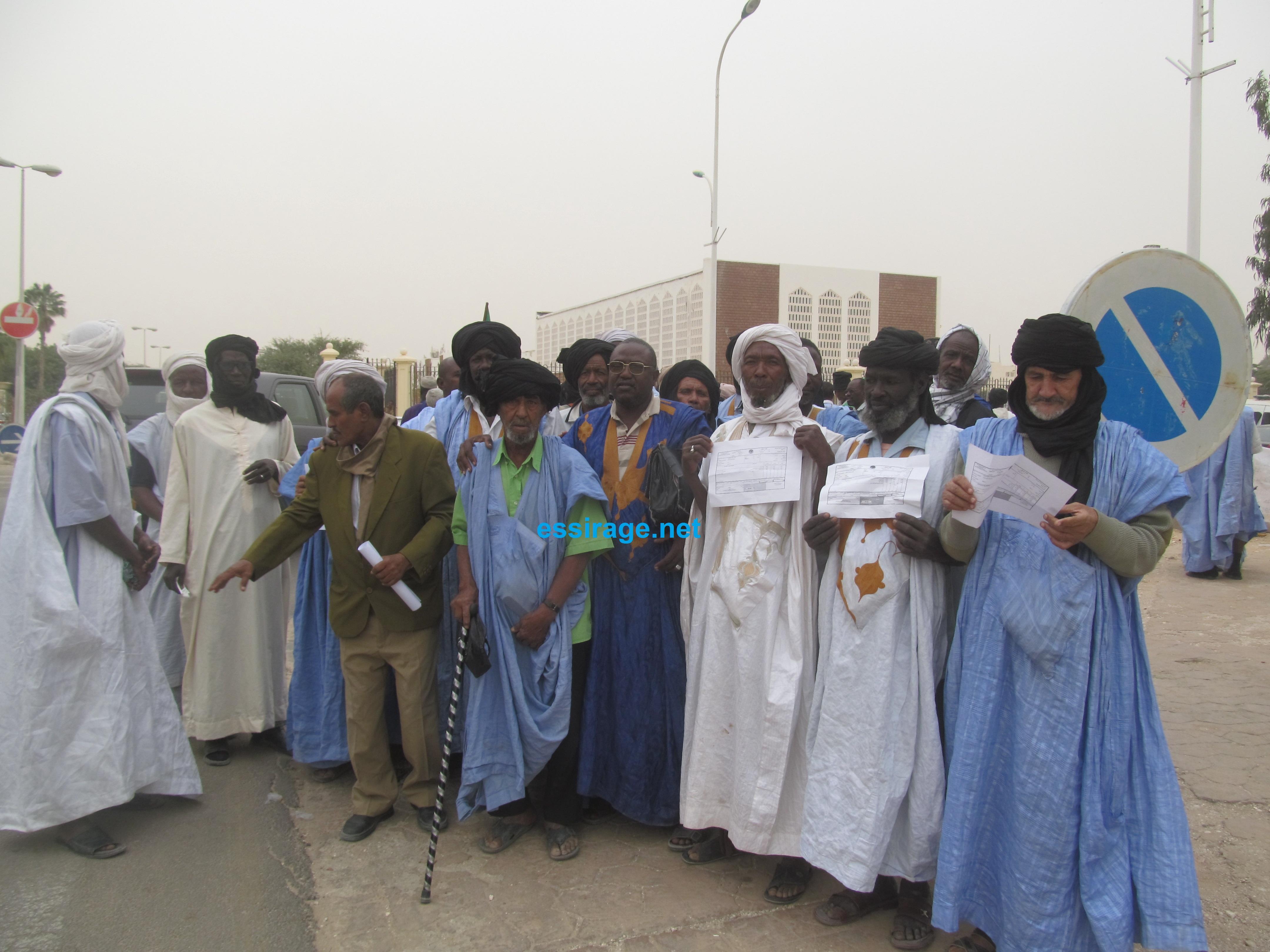 Nouakchott Des Retraites Reclament Une Augmentation De Leurs